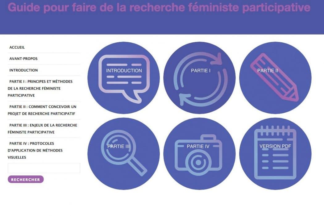 Guide Pour Faire De La Recherche Féministe Participative Recherche
