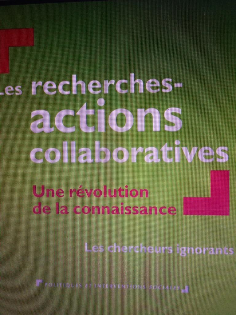 Les recherches actions collaboratives